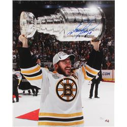 Mark Recchi Signed Boston Bruins 16x20 Photo (JSA COA)