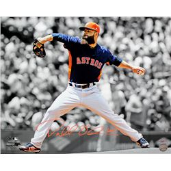 Dallas Keuchel Signed Houston Astros 16x20 Photo (TriStar Hologram)