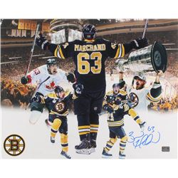 Brad Marchand Signed Boston Bruins 16x20 Photo (Marchand Hologram)
