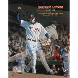 Derek Lowe Signed Boston Red Sox 16x20 Photo (JSA COA)