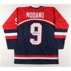 "Mike Modano Signed Jersey Inscribed ""HOF 14"" (Beckett COA)"