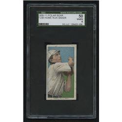1909-11 T206 #15 Home Run Baker (SGC 4)