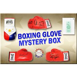 Schwartz Sports Boxing Superstar Signed Mystery Boxing Glove - Series 4 (Limited to 100) **MUHAMMAD