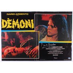 "Dario Argento Signed ""Demoni"" 18.5x26.5 Original Movie Poster (Beckett COA)"