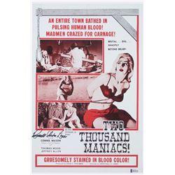"Herschell Gordon Lewis Signed ""Two Thousand Maniacs!"" 11x17 Print (Beckett COA)"