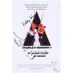 "Malcolm McDowell Signed ""A Clockwork Orange"" 10x15 Photo Inscribed ""Viddy Well"" (Beckett COA)"
