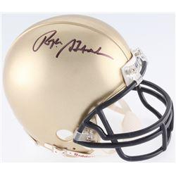 Roger Staubach Signed Navy Midshipmen Mini-Helmet (JSA COA)