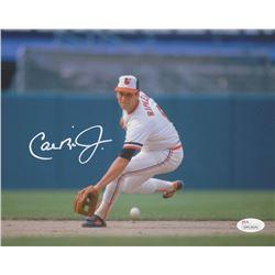 Cal Ripken Jr. Signed Baltimore Orioles 8x10 Photo (JSA COA)