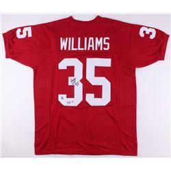 "Aeneas Williams Signed Jersey Inscribed ""HOF 14"" (Jersey Source COA)"