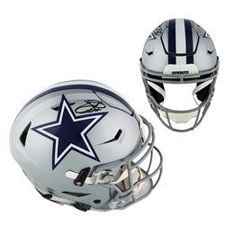 Emmitt Smith Signed Dallas Cowboys Full-Size Authentic On-Field SpeedFlex Helmet (Prova COA)