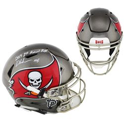 """Devin White Signed Tampa Bay Buccaneers Full-Size Authentic On-Field SpeedFlex Helmet Inscribed """"201"""