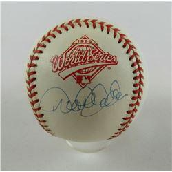 Derek Jeter Signed 1996 Offical World Series Baseball (Steiner COA)