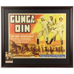 "Douglas Fairbanks Jr. Signed ""Gunga Din"" 28.5x33.5 Custom Framed Photo Display (JSA ALOA)"