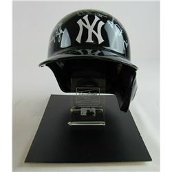 1978 New York Yankees Full-Size Batting Helmet Team-Signed by (21) with Dave Raisich, Ron Guidry, Re