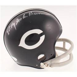 Billy Dee Williams Signed Chicago Cubs Throwback Suspension Mini Helmet (JSA COA)