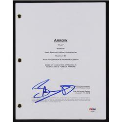 "Stephen Amell Signed ""Arrow"" Episode Script (PSA COA)"
