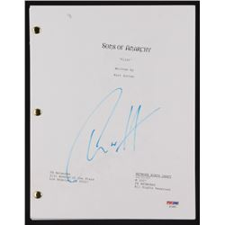 """Charlie Hunnam Signed """"Sons of Anarchy"""" Episode Script (PSA COA)"""