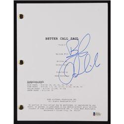 """Bob Odenkirk Signed """"Better Call Saul"""" Episode Script (Beckett COA)"""