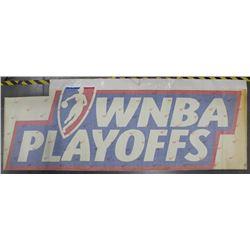 WNBA Playoffs 148.5x53.5 Arena Floor Decal
