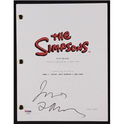 """James L. Brooks Signed """"The Simpsons"""" Episode Script (PSA COA)"""