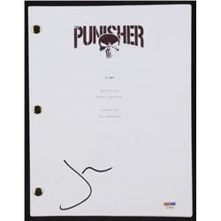 "Jon Bernthal Signed ""The Punisher"" Episode Script (PSA COA)"