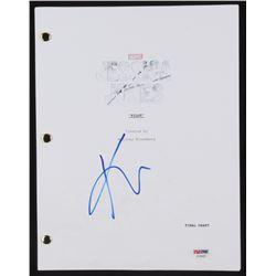 "Krysten Ritter Signed ""Jessica Jones"" Episode Script (PSA COA)"