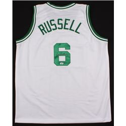 Bill Russell Signed Jersey (Hollywood Collectibles COA)