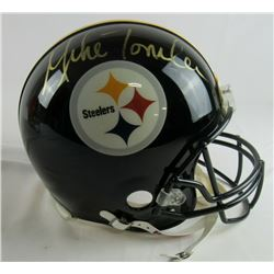 Mike Tomlin Signed Pittsburgh Steelers Full-Size Authentic On-Field Helmet (JSA COA)