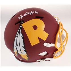 Dwayne Haskins Signed Washington Redskins Full-Size AMP Alternate Speed Helmet (JSA COA)