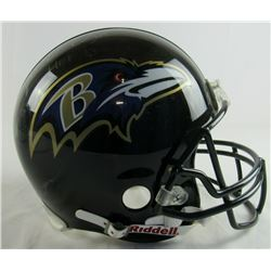 "Ray Lewis Signed Baltimore Ravens Full-Size Authentic On-Field Helmet Inscribed ""HOF 13"" (JSA COA)"