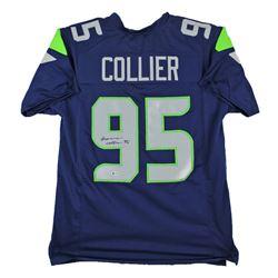 L. J. Collier Signed Jersey (Beckett COA)