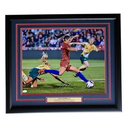 Alex Morgan Signed Team USA 22x27 Custom Framed Photo Display (JSA COA)
