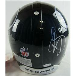 Brian Cushing Signed Houston Texans Full-Size Authentic On-Field Helmet (JSA COA)