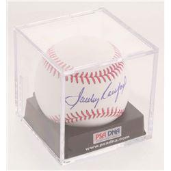 Sandy Koufax Signed OML Baseball with Display Case (PSA LOA - Graded 9)