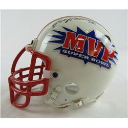 Joe Namath Signed Super Bowl MVP Mini Helmet  (JSA COA)