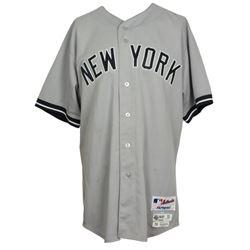 Joe Girardi Game-Used Jackie Robinson Day 2015 New York Yankees Majestic Jersey (MLB Hologram  Stein