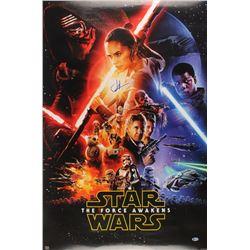"J. J. Abrams Signed ""Star Wars: The Force Awakens"" 27x40 Movie Poster (Beckett COA)"