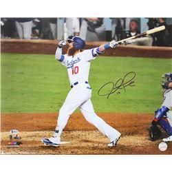 Justin Turner Signed Los Angeles Dodgers 2017 NLCS 16x20 Photo (Beckett COA)