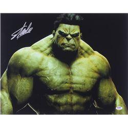 "Stan Lee Signed ""Hulk"" 16x20 Photo (PSA COA)"