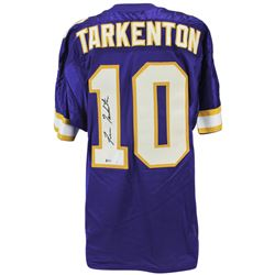 Fran Tarkenton Signed Minnesota Vikings Jersey (Beckett COA)