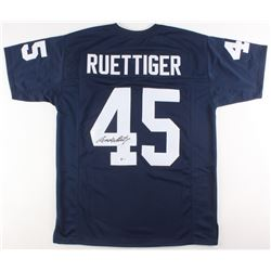 Rudy Ruettiger Signed Jersey (Beckett COA)