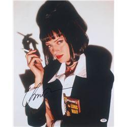 "Uma Thurman Signed ""Pulp Fiction"" 16x20 Photo (PSA Hologram)"