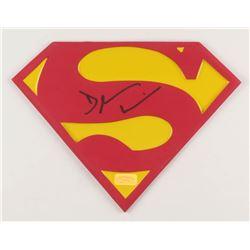 """Dean Cain Signed """"Superman"""" Emblem (PSA COA)"""