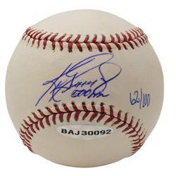 """Ken Griffey Jr. Signed LE OML Baseball Inscribed """"500 HR"""" (UDA COA  MLB Hologram)"""