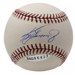 Ken Griffey Jr. Signed OML Baseball (UDA COA)