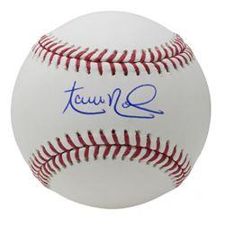 Aaron Nola Signed OML Baseball (MLB Hologram  Fanatics Hologram)