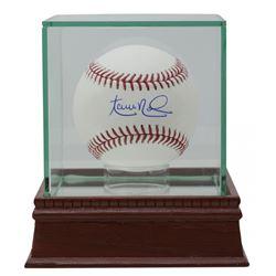 Aaron Nola Signed OML Baseball (Fanatics Hologram)