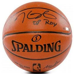 "Kevin Durant Signed NBA Game Ball Series Basketball Inscribed ""08 ROY"" (Panini COA)"