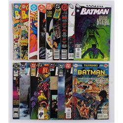 "Lot of (17) 1961-2007 ""Batman Annuals"" #2-#26 DC Comic Books"