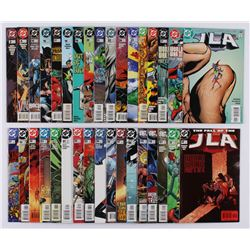 "Lot of (34) 1997-2005 ""JLA"" #3-#121 DC Comic Books"